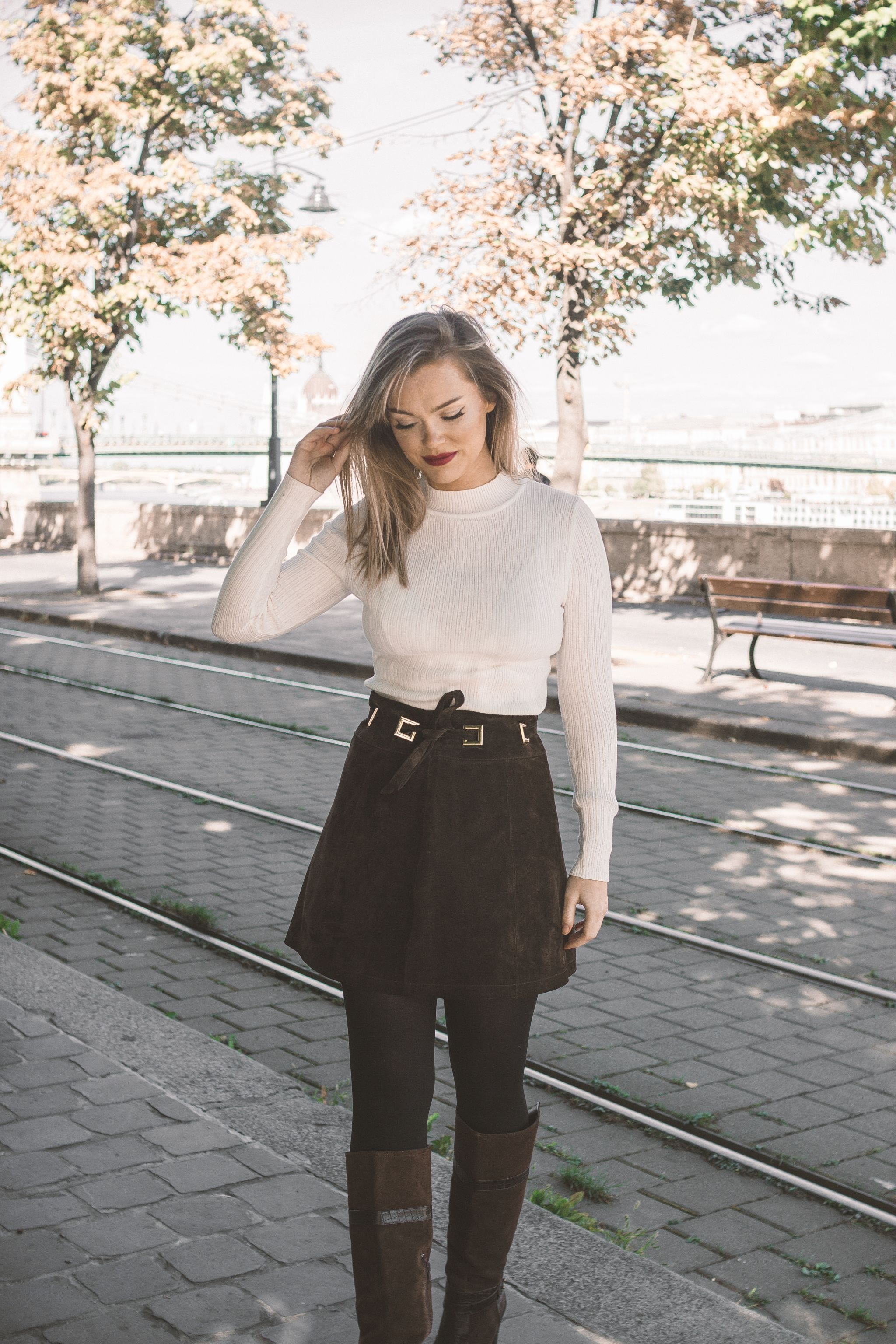 Budapest Autumn outfit OOTD