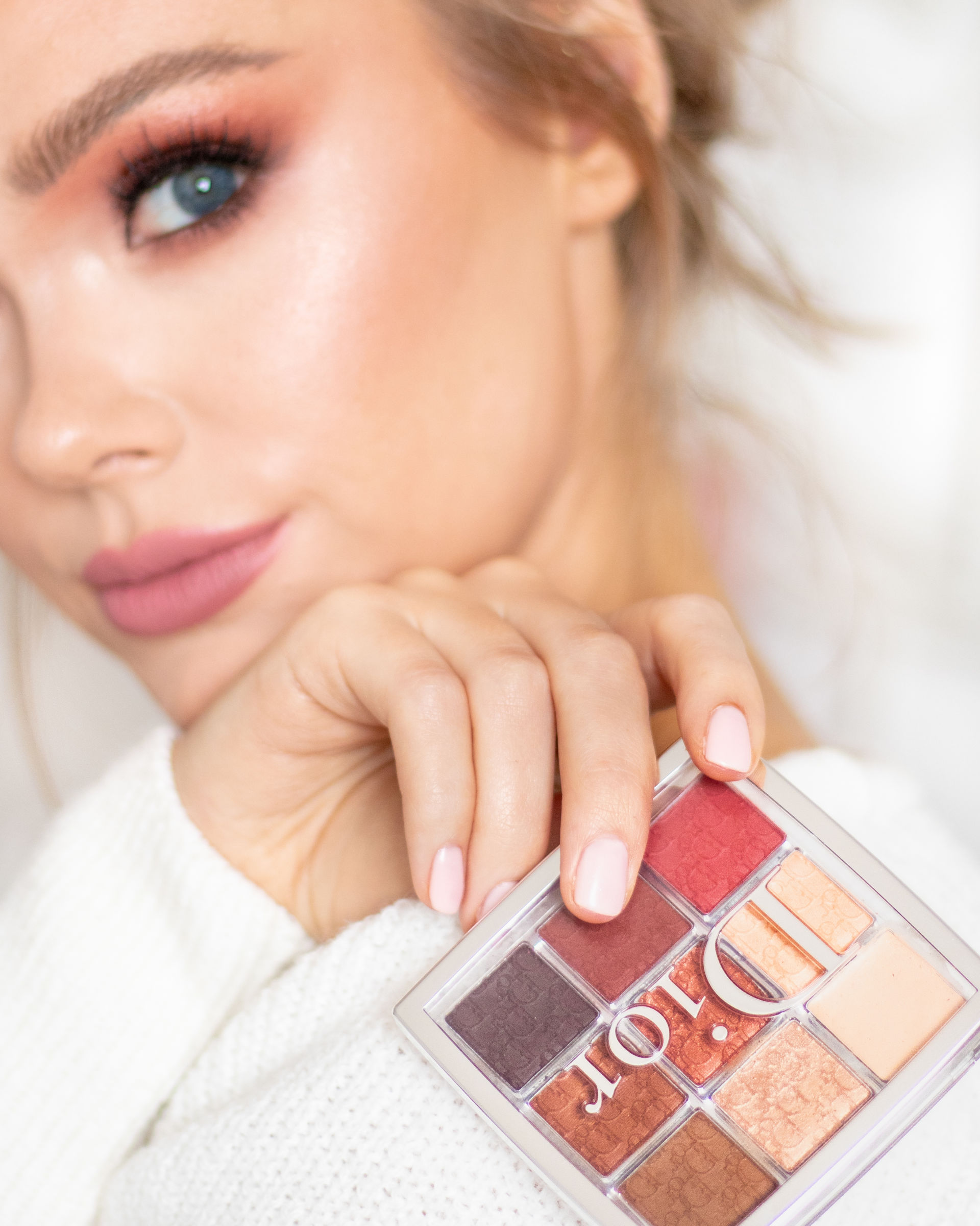 Dior Amber Neutrals Burgundy Eye