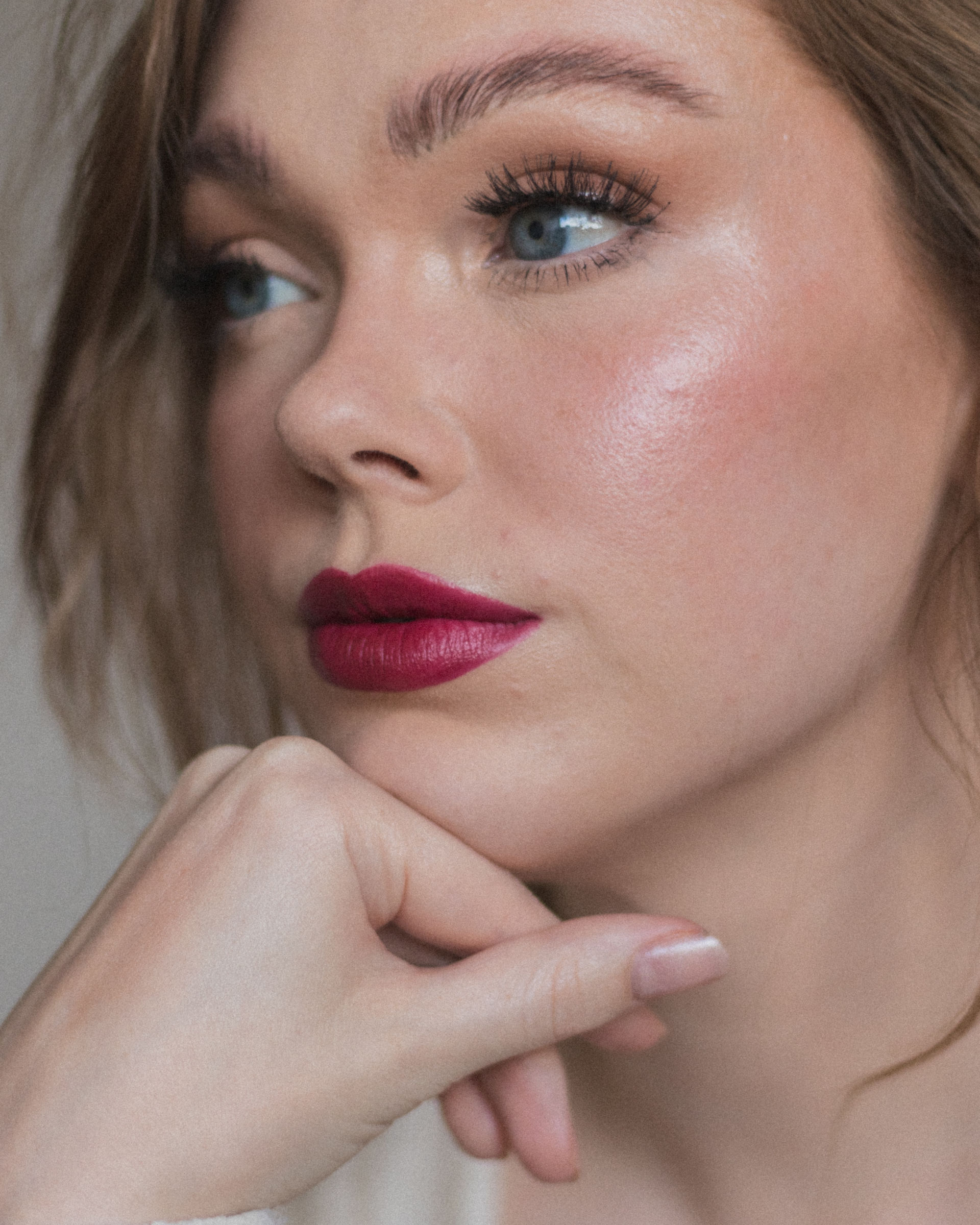 Bobbi Brown Luxe Matte Lipstick 'Burnt Cherry'-1
