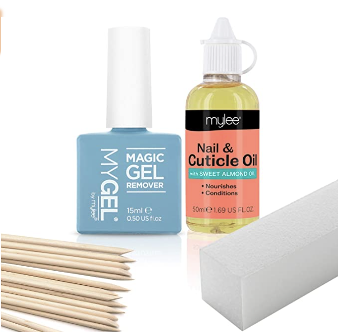 Mylee Gel Nail Polish Removal Kit